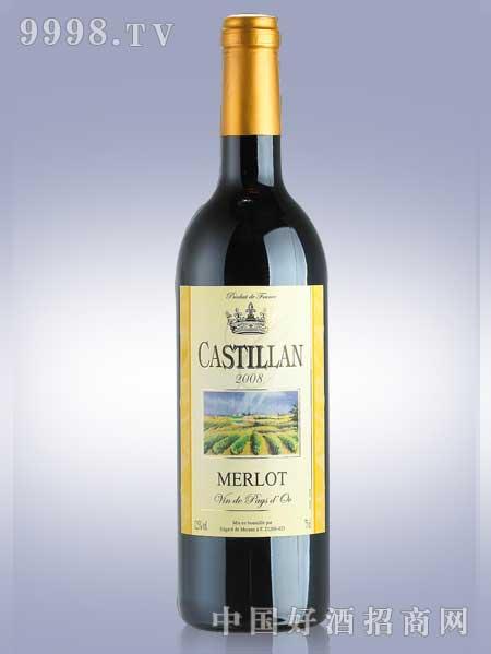 卡蒂亚梅洛红葡萄酒