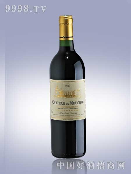 莫查克城堡红葡萄酒