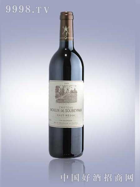 苏贝勒磨坊红葡萄酒