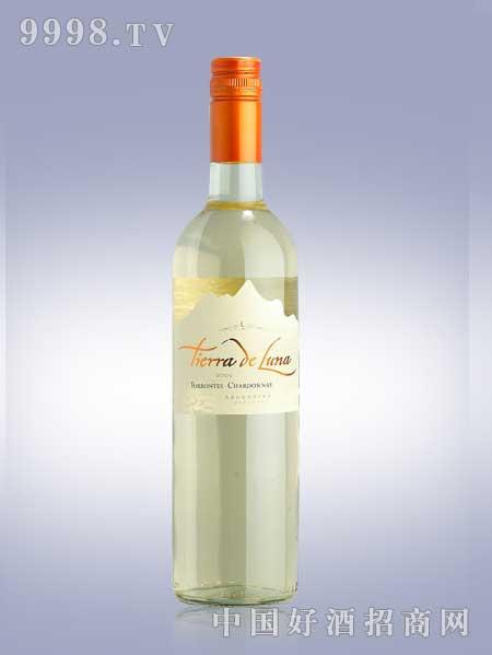 露顿熔岩白妥伦特斯夏多内白葡萄酒