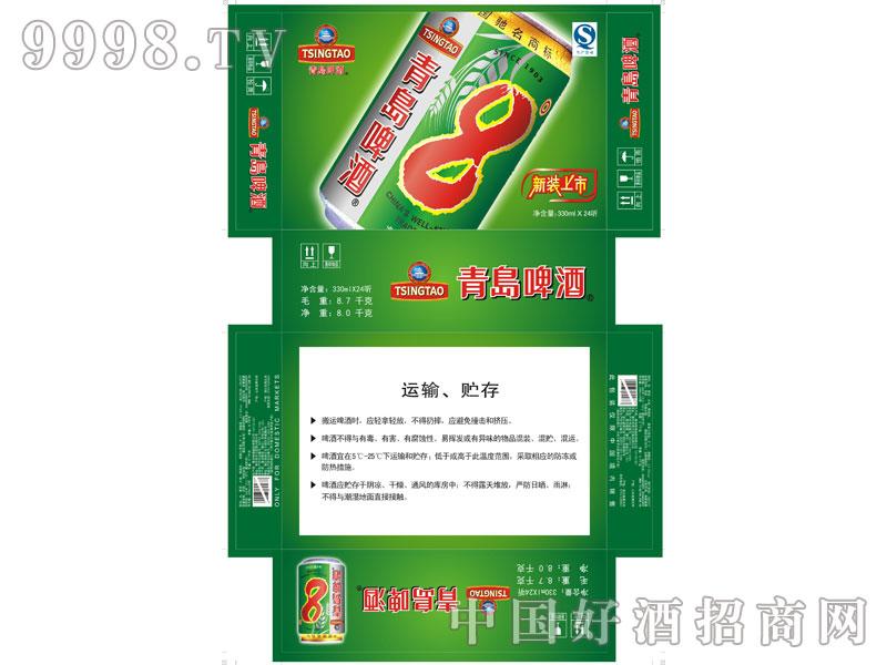 新-青岛8度罐纸箱(1X24)