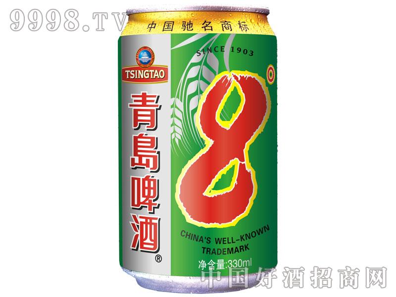 新-青岛8度(绿罐)