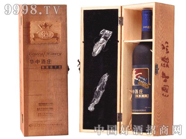 优质干酒750ml单支木质礼盒装