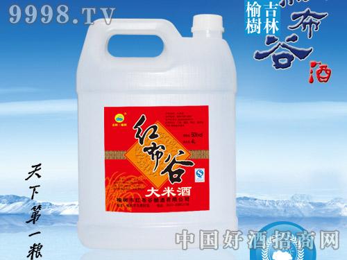 红布谷-大米酒