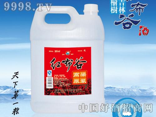 红布谷-高粱原浆(白壶)