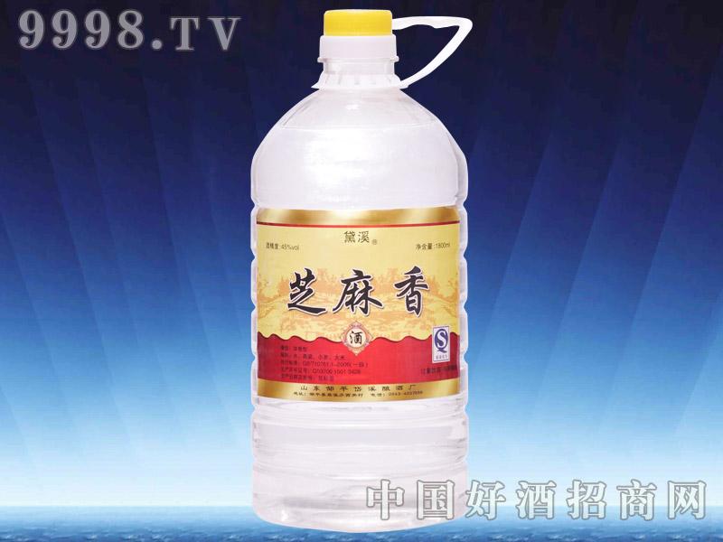 45度岱溪芝麻香1.8L桶酒