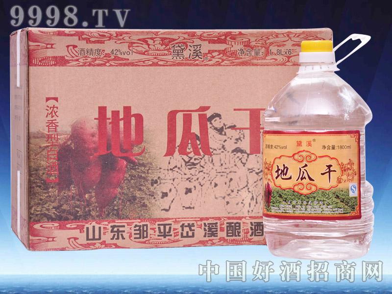 岱溪地瓜干桶酒1800毫升(盒装)