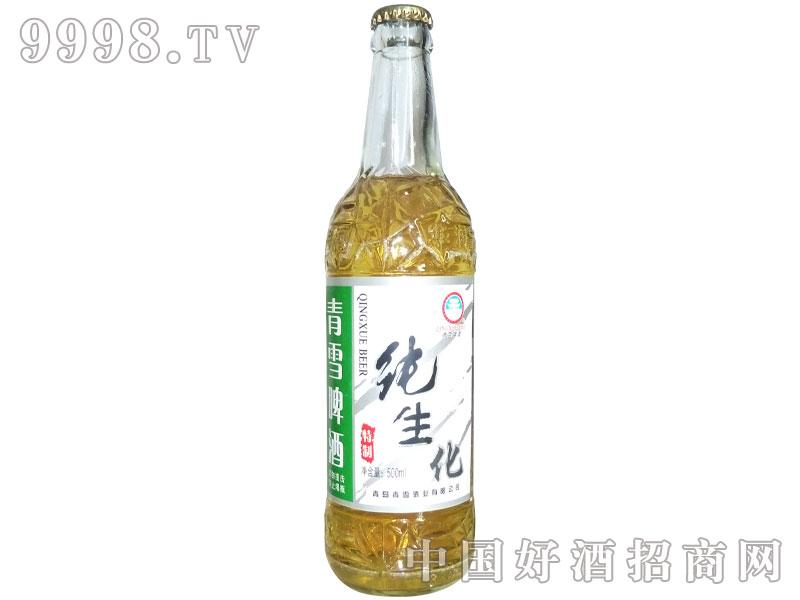 青瑞啤酒白瓶纯生