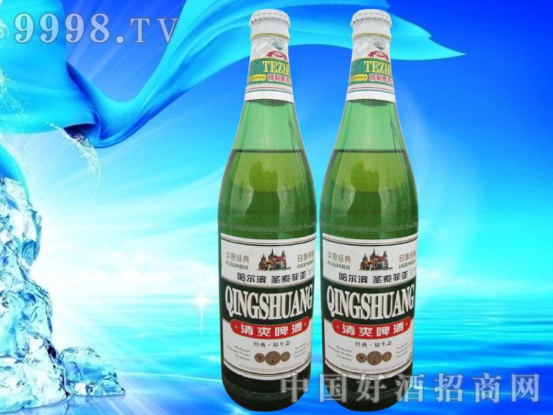 哈尔滨啤酒清爽型