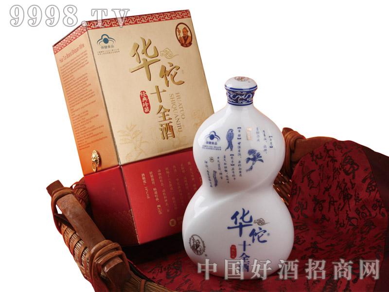 华佗十全酒葫芦礼盒-保健酒招商信息