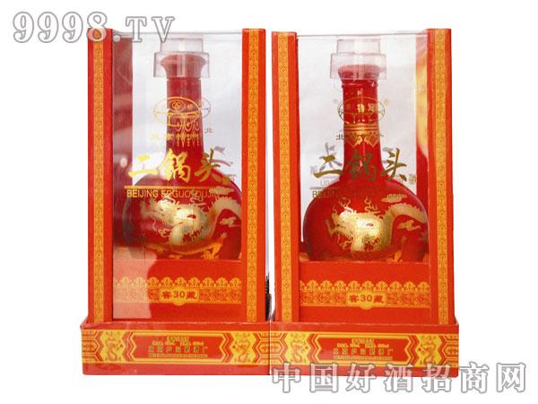 北京二锅头52°窖藏30(红)