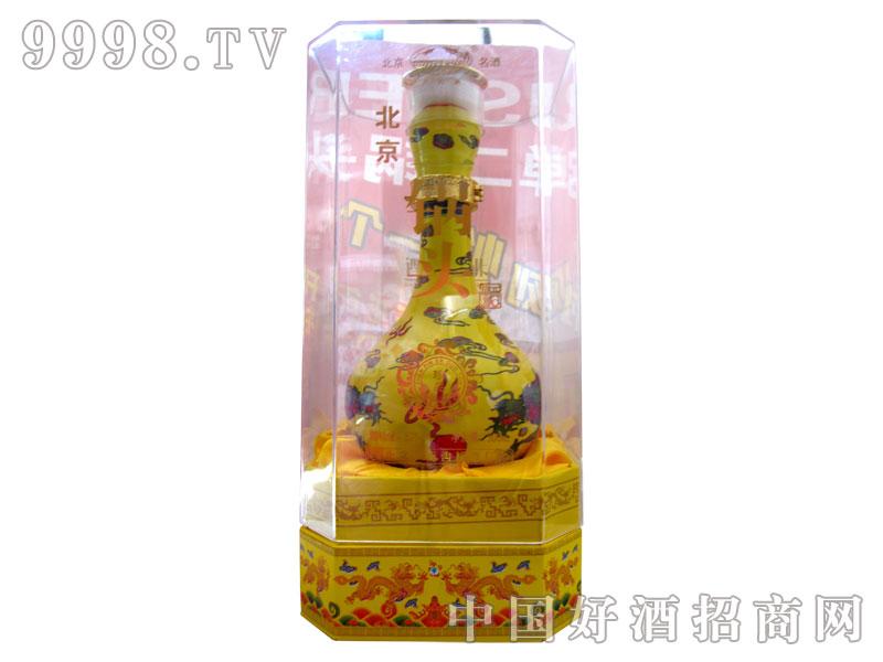 北京二锅头500mL珍品黄