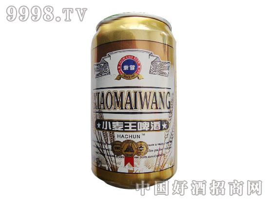 小麦王罐装啤酒