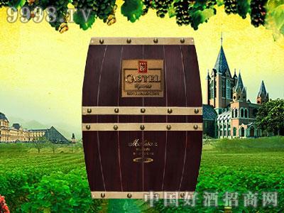 橡木桶双支木质包装