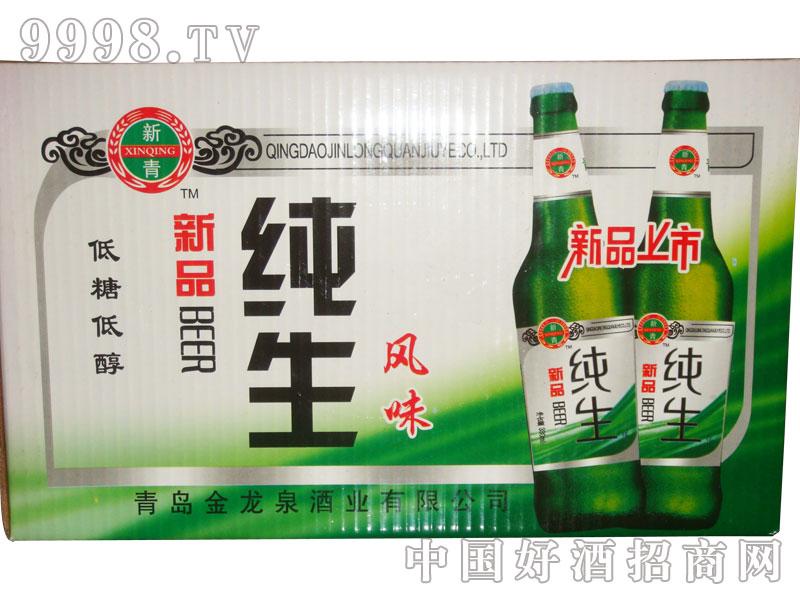 新品纯生风味啤酒(箱)