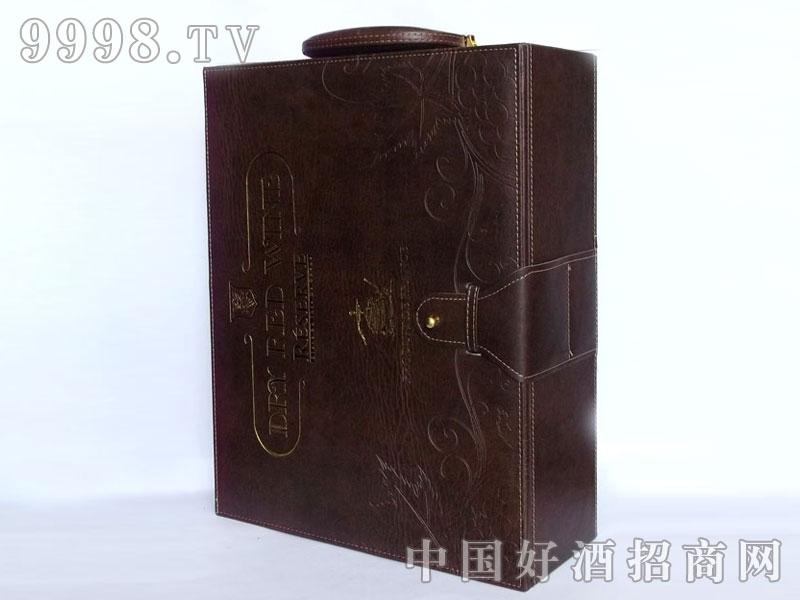 进口红酒(皮盒)