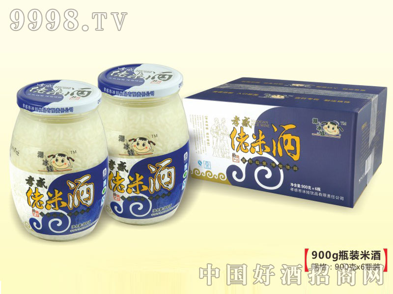 900克湖冰娃佬米酒