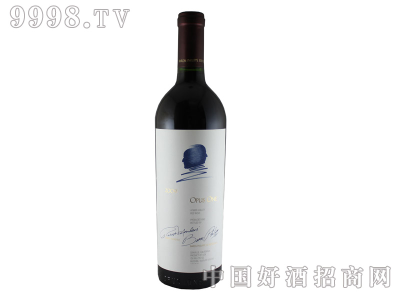 美国作品一号干红葡萄酒2009