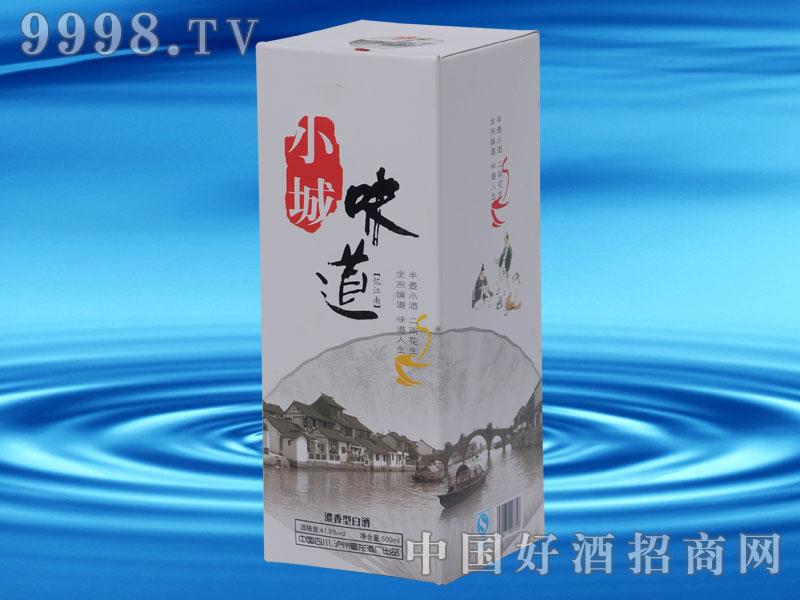 小城味道-浓香型白酒盒装