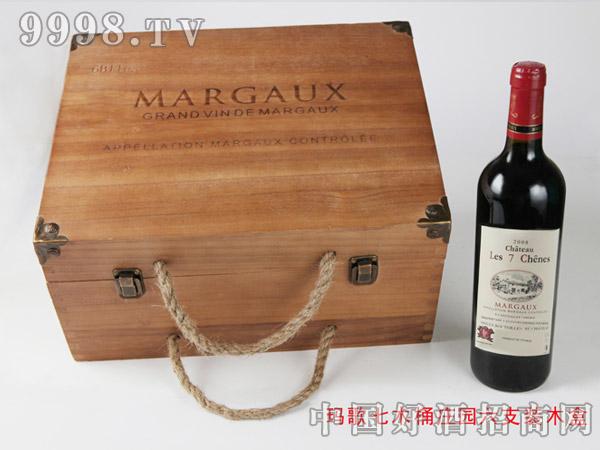 玛歌七木桶六支装木盒