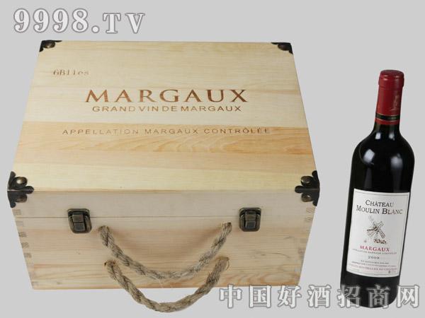 玛歌木兰六支装木盒