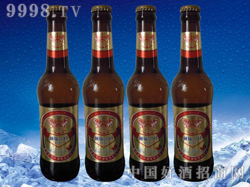 美国蓝带啤酒蓝钻冰樽330ml棕瓶