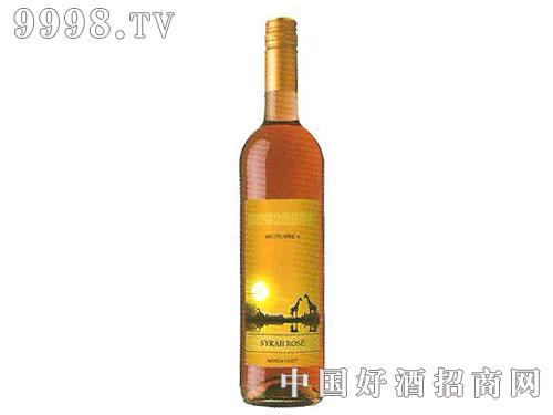 极速希拉半甜桃红葡萄酒
