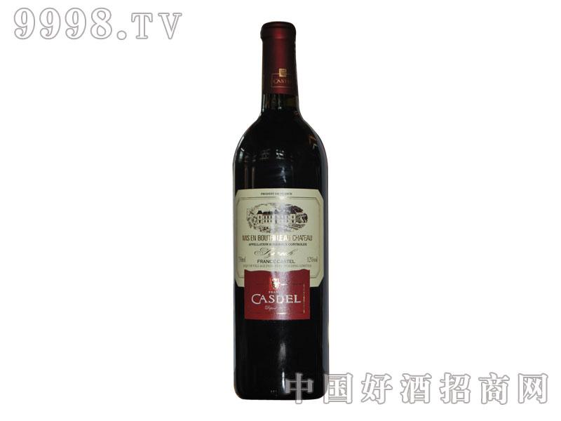 C001卡斯顿西拉干红光瓶