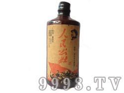 人民公社单瓶茅台镇酱香型白酒