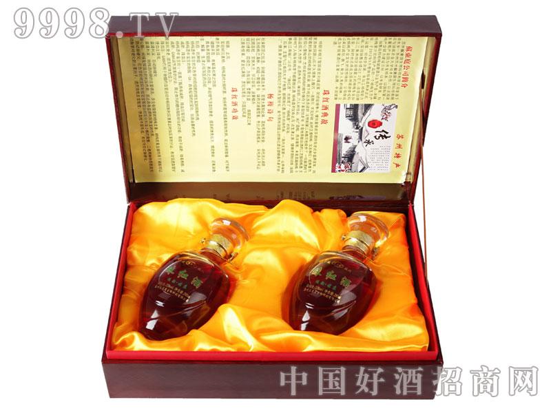 珠红酒礼盒装