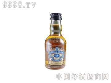 芝华士18年苏格兰威士忌50ml酒板