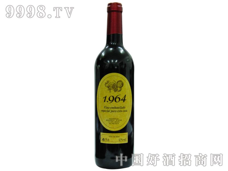 1964干红葡萄酒