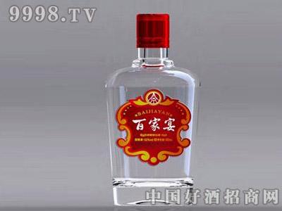百家宴光瓶-白酒招商信息