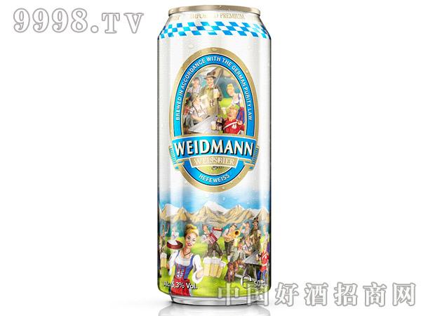 威德曼原浆小麦白啤酒