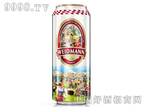 威德曼原浆小麦黑啤酒