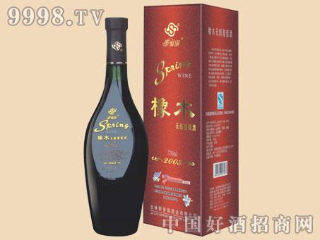 橡木无醇葡萄酒750ml