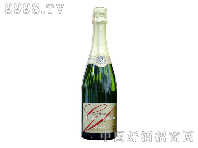 乔治威瑟列级庄半干型香槟