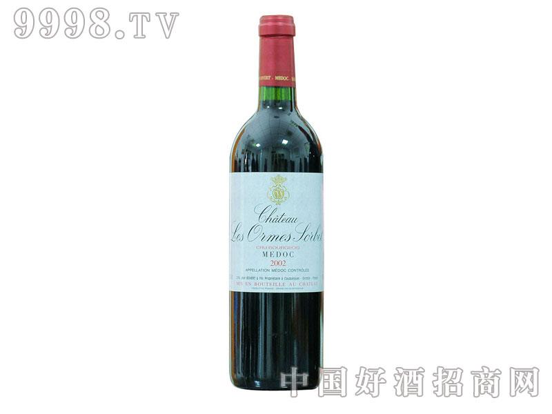 索比庄园干红葡萄酒2002