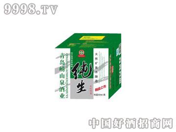崂山泉千赢国际手机版500ml开箱有奖纯生