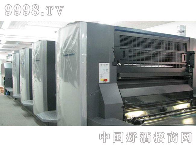 海德堡CD102四色胶印机