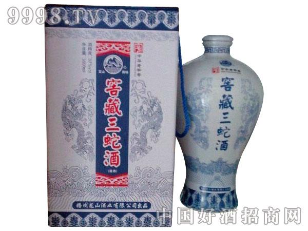 窖藏三蛇酒 1*3000ml*4 37%vol