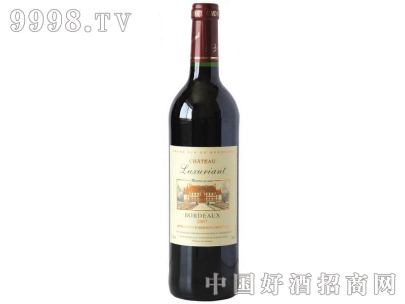 蓝菲干红酒庄酒AOC