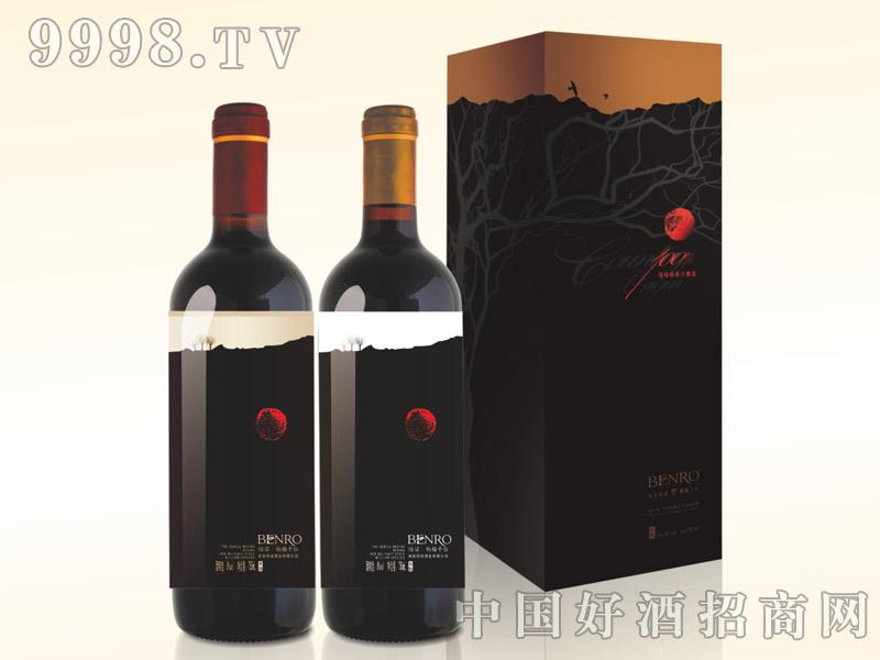 东魁杨梅干红果酒