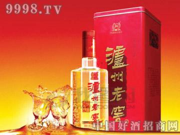 泸州老窖铁盒陈曲6
