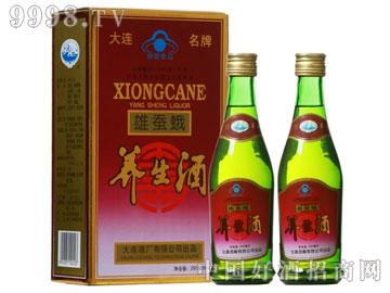 38度雄蚕蛾养生酒(250mlx2)