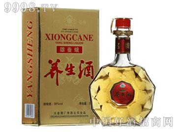 38度雄蚕蛾养生酒(320ml)