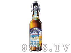 猛士小麦白啤酒瓶