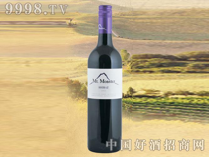 2008年魔王大山解西拉子干红葡萄酒