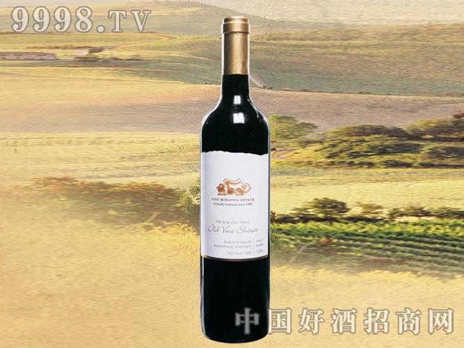 2008年鲁美兰达老树西拉子干红葡萄酒