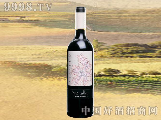 2008年鲁美兰达特乐娜梅乐干红葡萄酒